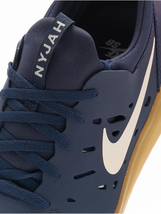 Nike SB Sneakers Nyjah Free Skateboarding modrá