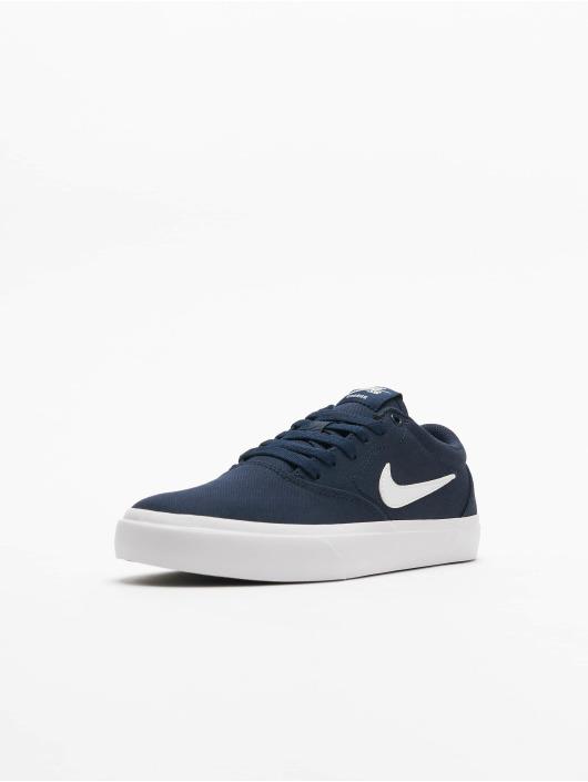 Nike SB Sneakers Charge Canvas niebieski