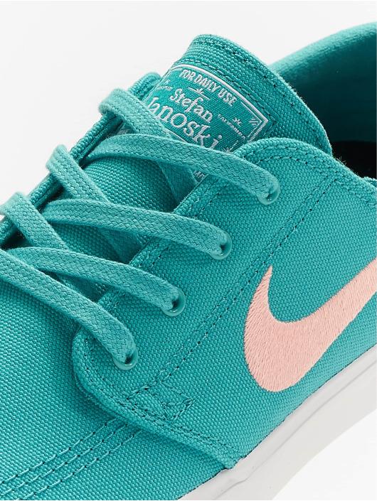 Nike SB Sneakers SB Zoom Janoski Canvas turkusowy