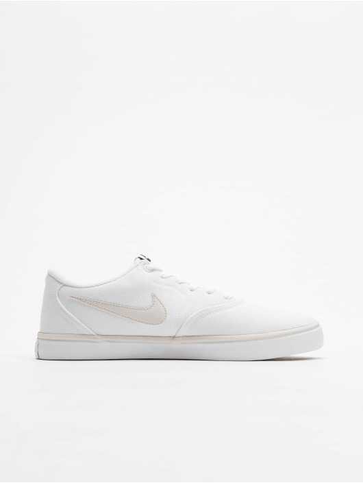 Nike SB Sneakers Check Solarsoft Canvas white