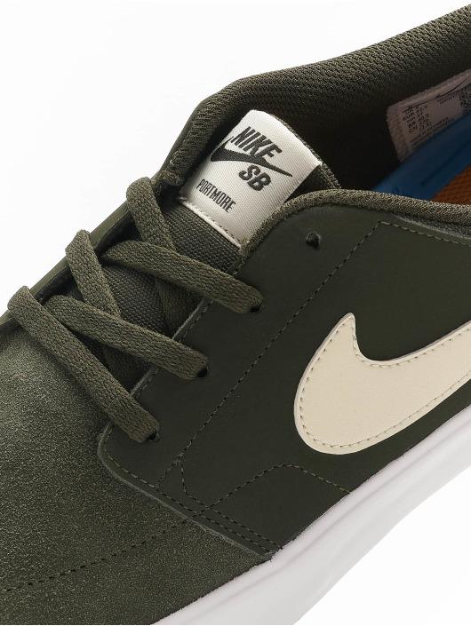 Nike SB Sneakers Portmore II Solar zielony