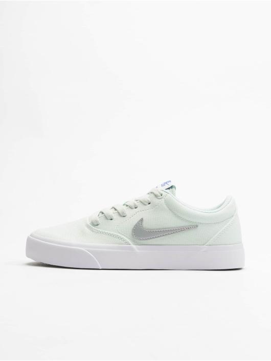 Nike SB Snejkry Charge Canvas zelený