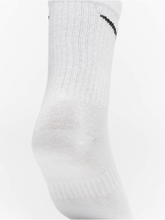 Nike SB Sokken LTWT Crew 3 Pair wit