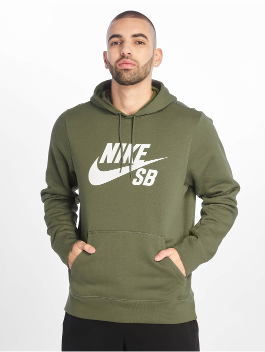 Nike SB Sweat capuche SB Icon Hoodie Essential olive