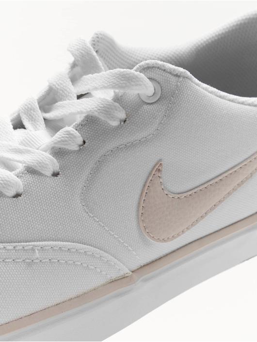 Nike SB Tøysko Check Solarsoft Canvas hvit
