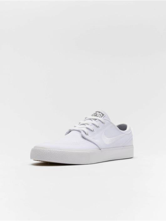 Nike SB Tøysko Zoom Janoski Canvas hvit