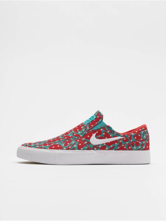Nike SB Tøysko Zoom Janoski Slip Canvas mangefarget