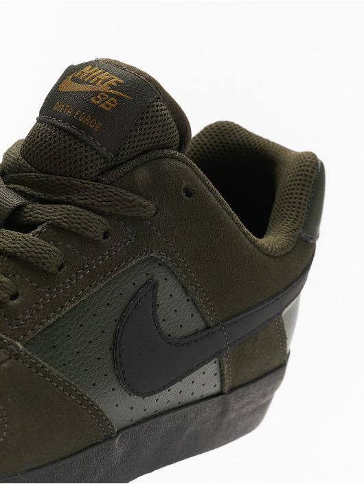 Nike SB Tøysko SB Delta Force Vulc Skateboarding oliven