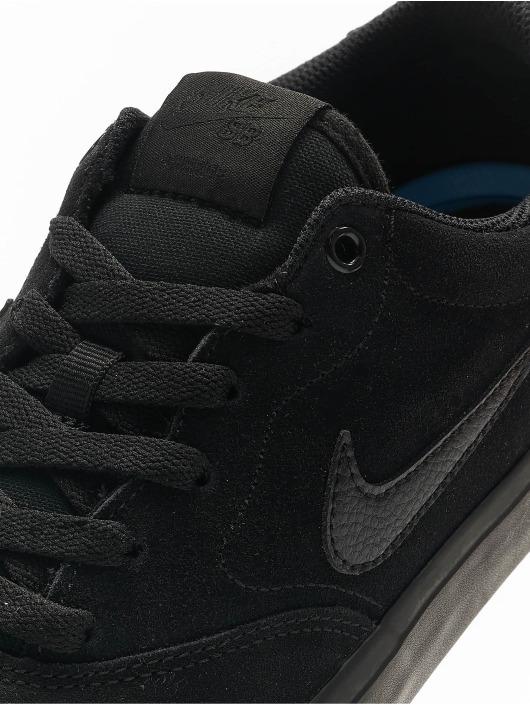 Nike SB Tøysko Charge Suede svart