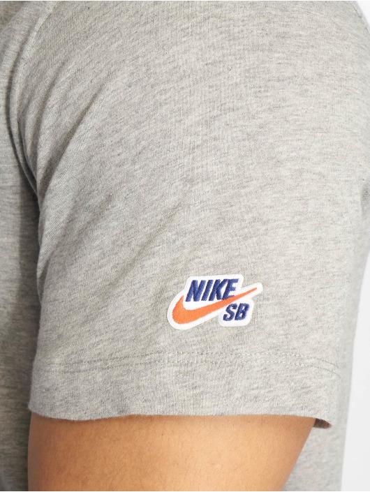 Nike SB T-Shirt Basic grau