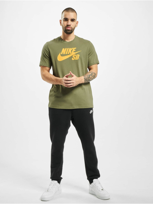 Nike SB T-Shirt Dry Logo olive