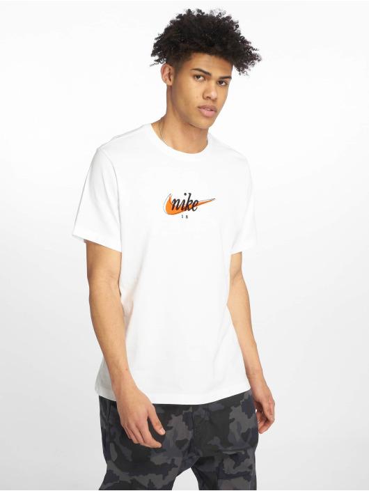 Nike SB T-Shirt SB weiß