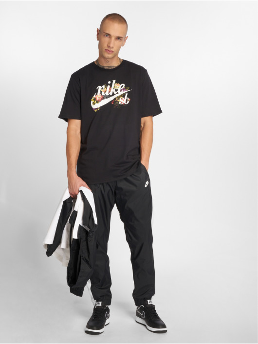 Nike SB t-shirt Dry zwart