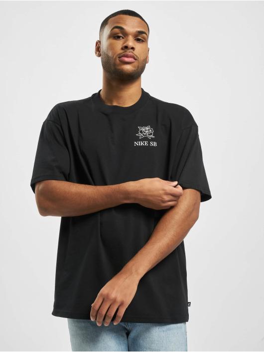 Nike SB t-shirt SB Darknature zwart
