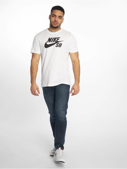 Nike SB T-Shirty Dri-Fit bialy
