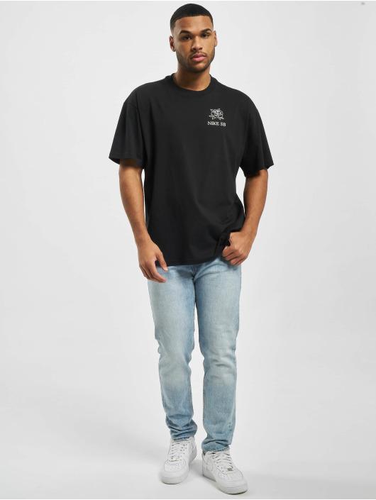Nike SB T-Shirty SB Darknature czarny