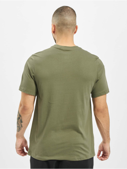 Nike SB T-Shirty Dry Logo oliwkowy