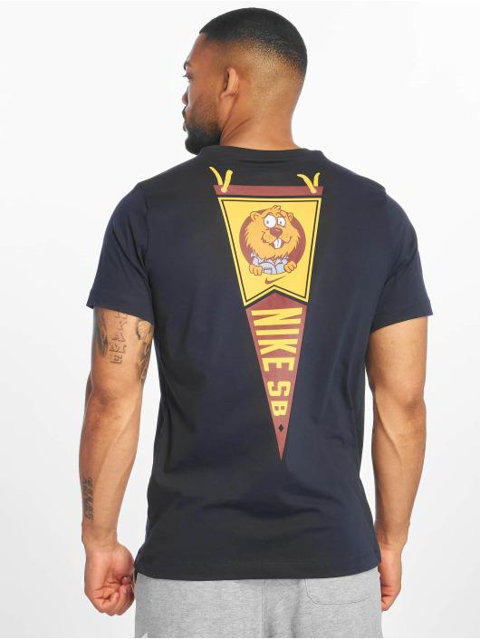 Nike SB T-skjorter SB Gopher T-Shirt blå