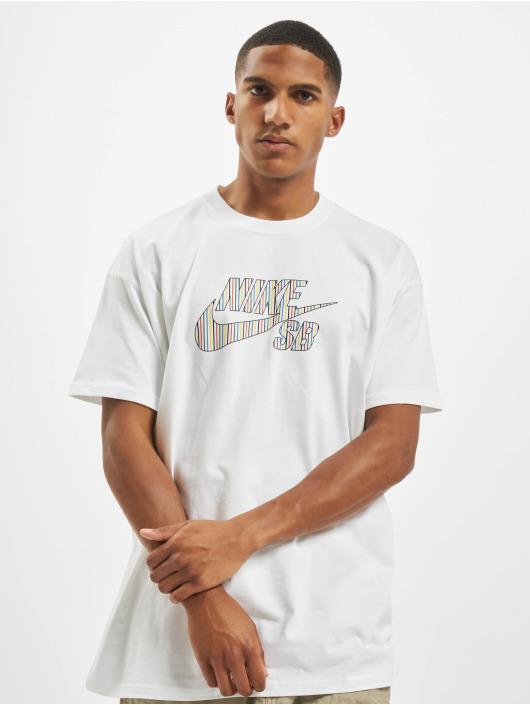 Nike SB T-skjorter SB BTS Logo hvit