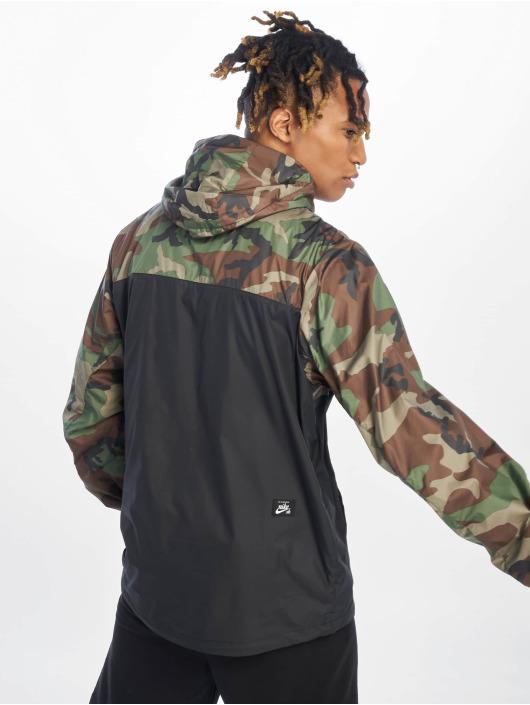 Nike SB Transitional Jackets Anorak oliven