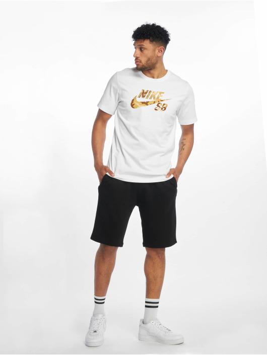 Nike SB Tričká SB Logo Snsl 2 biela