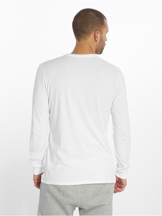 Nike SB Tričká dlhý rukáv Logo biela