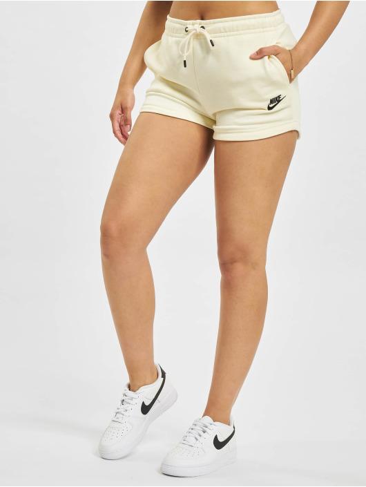 Nike Short W Nsw Essntl Flc Hr Ft beige