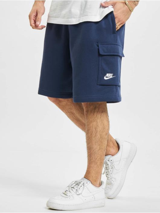 Nike Short Club Cargo bleu