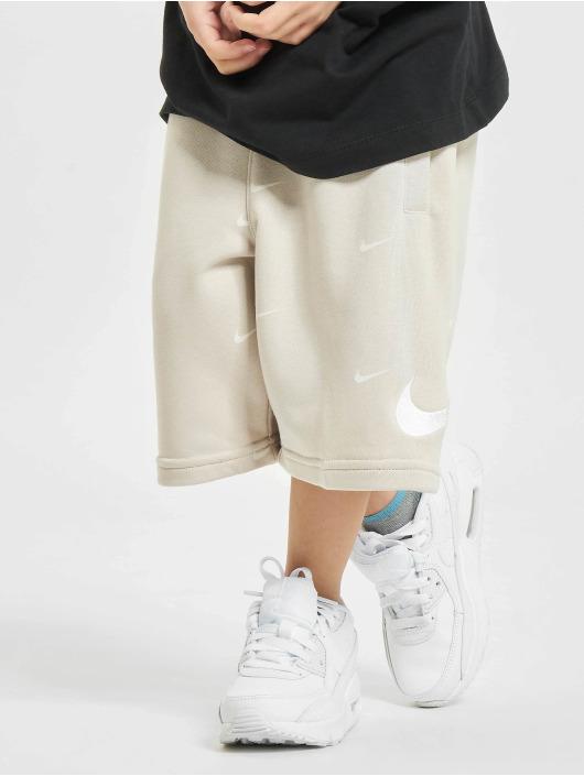 Nike Shorts Swoosh beige