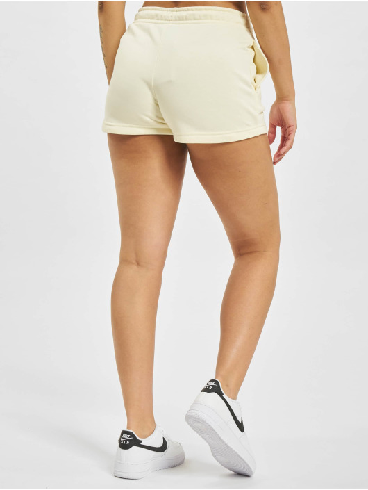 Nike Shorts W Nsw Essntl Flc Hr Ft beige