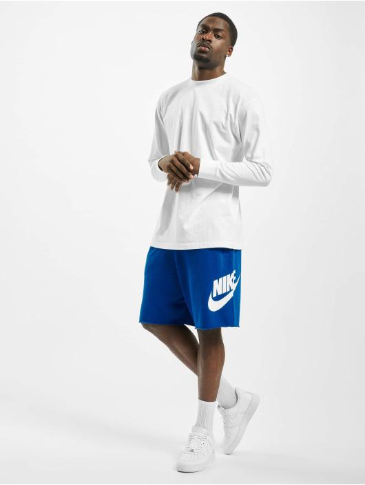 Nike Shorts HE FT Alumni blau