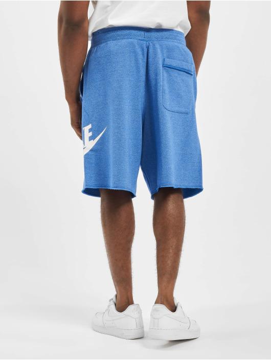 Nike Shorts Alumni blau