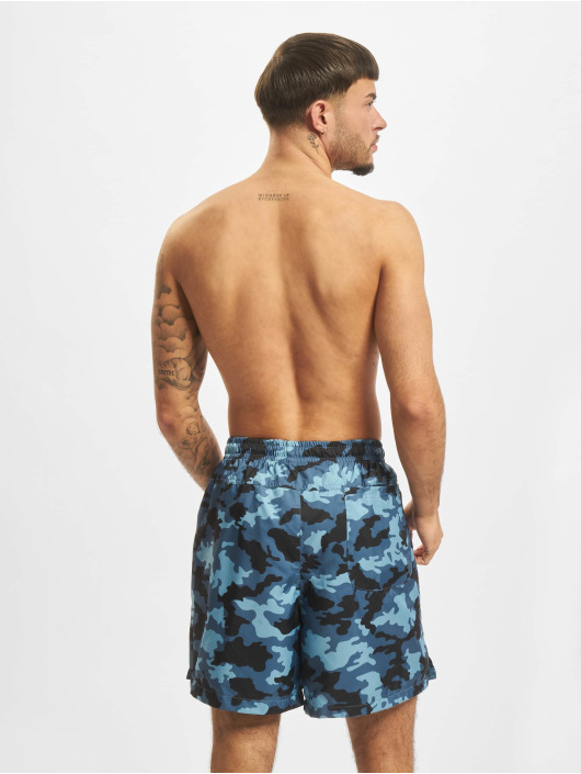 Nike Shorts Woven Flow Camo blau