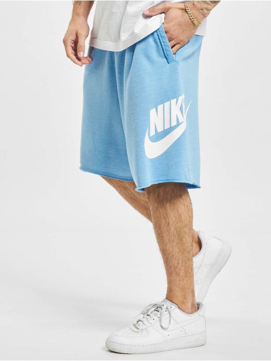 Nike shorts M Nsw He Short Ft Alumni blauw