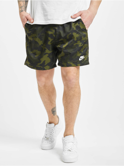 Nike Shorts Woven Flow Camo camouflage