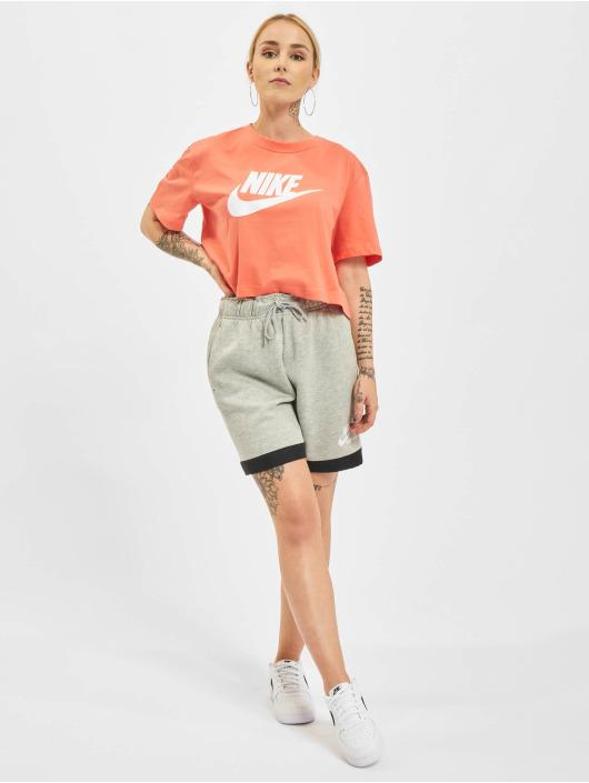 Nike Shorts Heritage Easy Fleece grau