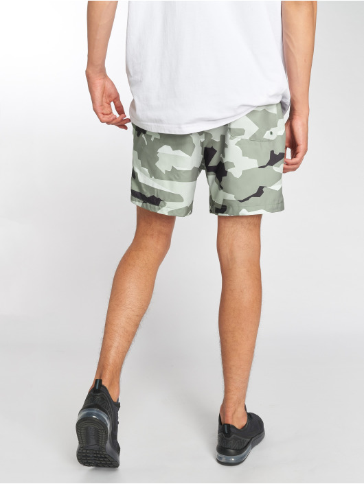Nike shorts Flow Camo grijs