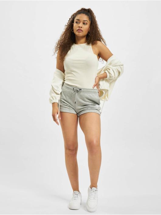 Nike shorts W Nsw Essntl Flc Hr Ft grijs