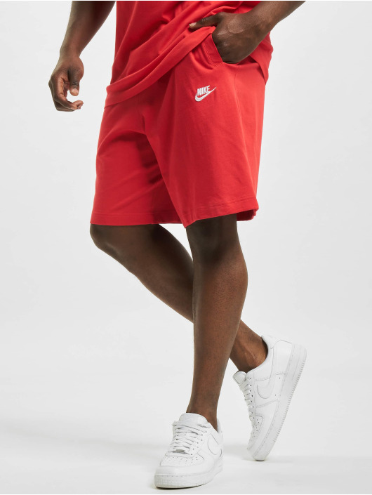 Nike shorts Club rood