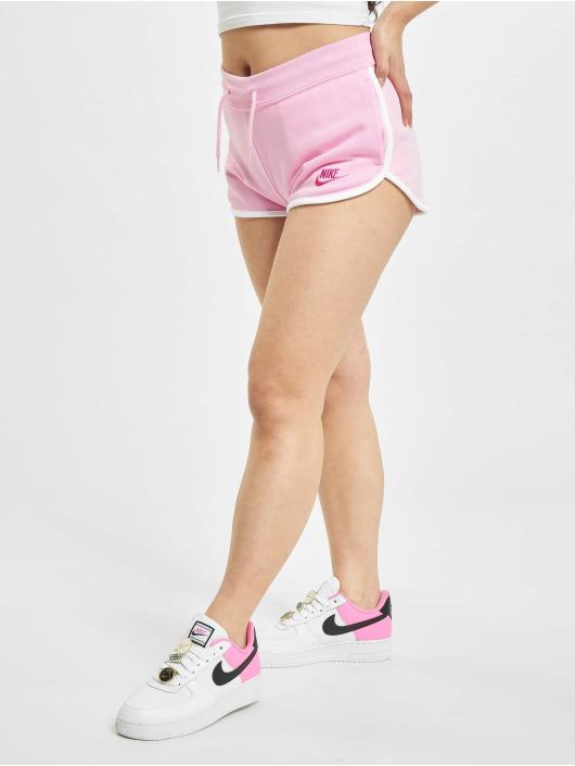 Nike Shorts Heritage Fleece rosa