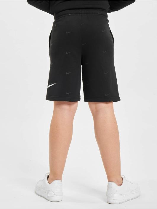 Nike Shorts Swoosh schwarz