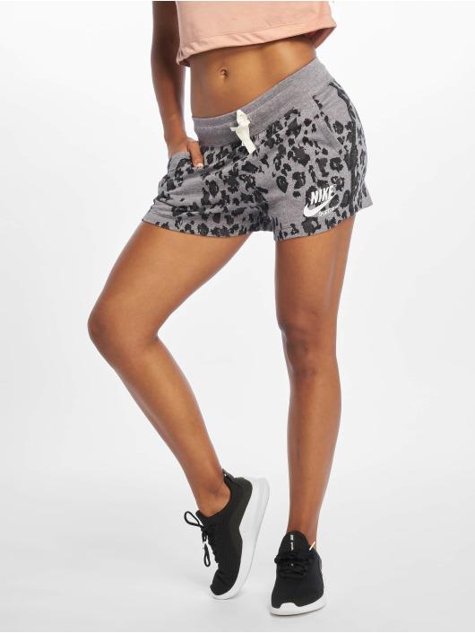 Nike Shorts Gym Vintage Leopard svart