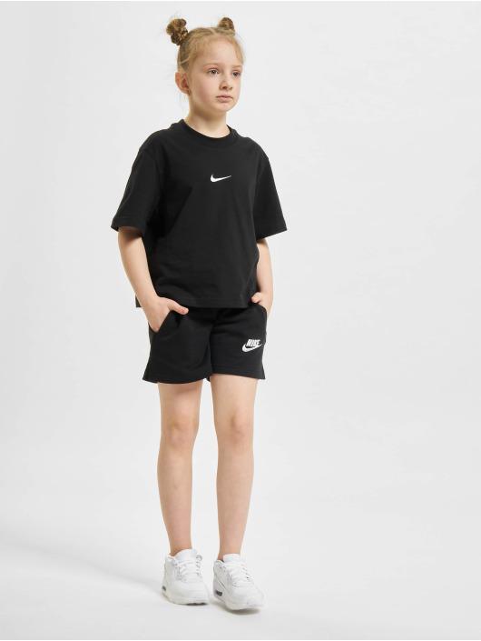 Nike Shortsit Club Ft 5 In musta