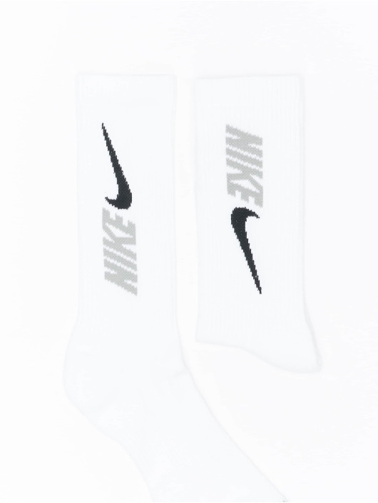 Nike Skarpetki Everyday Plus Cush Crew 3 bialy
