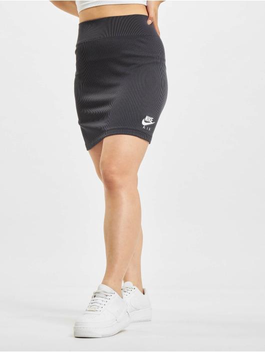 Nike Skjørt W Nsw Air Rib svart
