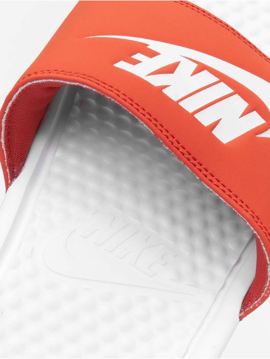 Nike Slipper/Sandaal Benassi JDI wit