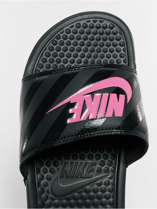 Nike Benassi JDI Sandals BlackVivid PinkBlack