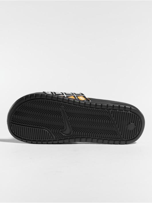 """Nike Slipper/Sandaal """"just Do It."""" zwart"""