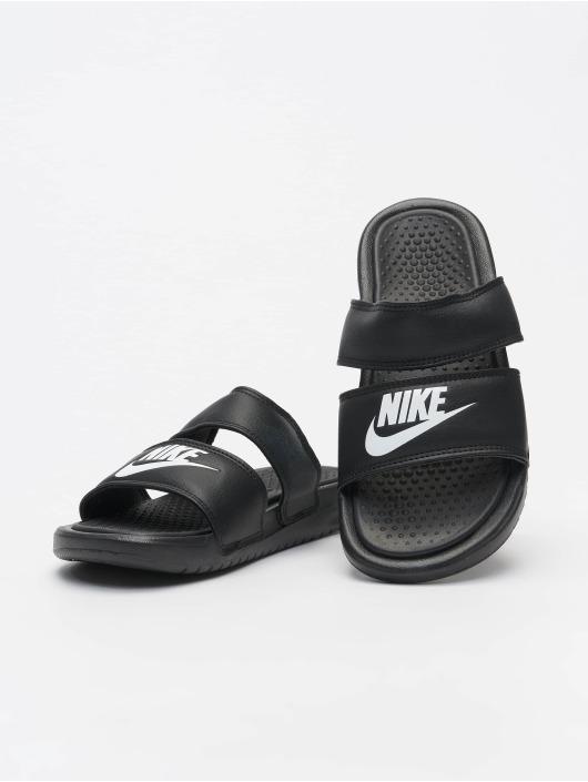 Nike Slipper/Sandaal Benassi Duo Ultra Slide zwart