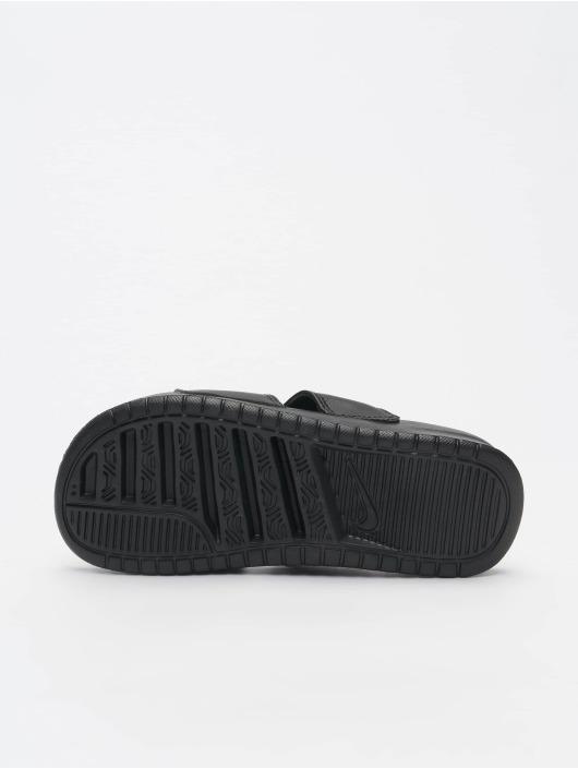 best service 43ab6 01a29 Nike Benassi Duo Ultra Slide Sandals Black/White